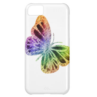 Rainbow Butterfly iPhone 5C Cover