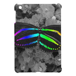 Rainbow Butterfly Color Pop Photography iPad Mini Cases