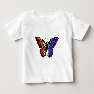 rainbow butterfly hearts baby T-Shirt
