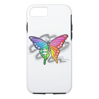 Rainbow Butterfly iPhone 8/7 Case