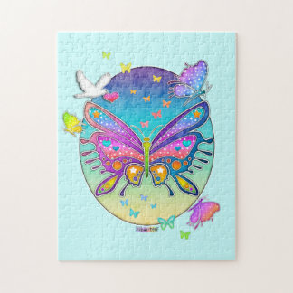 Rainbow Butterfly Puzzle