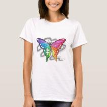Rainbow Butterfly T-Shirt