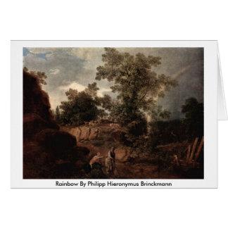 Rainbow By Philipp Hieronymus Brinckmann Greeting Card