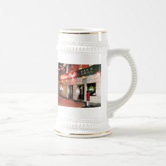 Rainbow Café Beer Stein Mug