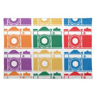 Rainbow Cameras Placemats