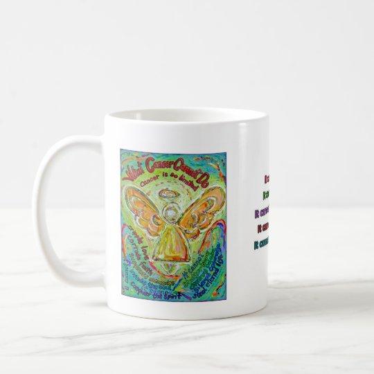 Rainbow Cancer Angel Mug