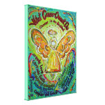 Rainbow Cancer Cannot Do Angel Art Painting Stretched Canvas Prints