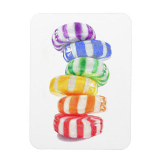 "Rainbow Candy 3"" x 4"" Flexible Magnet"