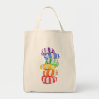 Rainbow Candy Grocery Tote