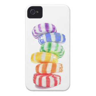 Rainbow Candy iPhone 4 Case
