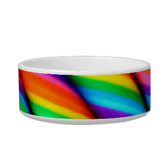 Rainbow Candy Pet Bowl