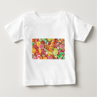 Rainbow candy infant t-shirt
