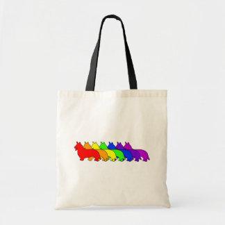 Rainbow Cardigan Canvas Bag
