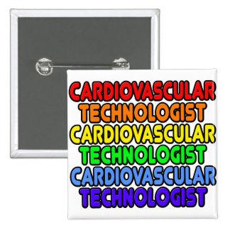 Rainbow Cardiovascular Technologist Button
