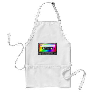 Rainbow Cassette Tape Adult Apron