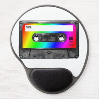 Rainbow Cassette Tape Gel Mouse Pad