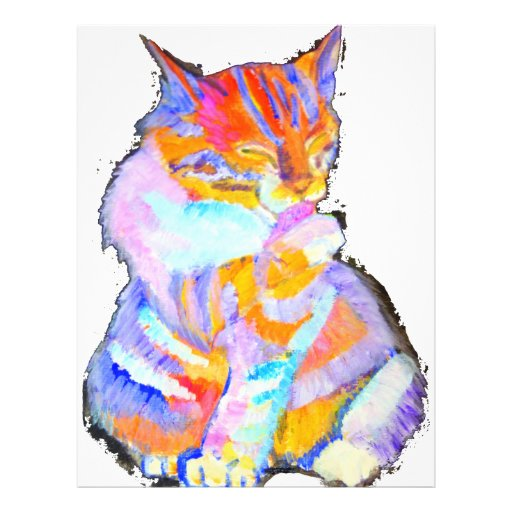 Rainbow Cat Custom Flyer