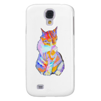 Rainbow Cat Galaxy S4 Cases