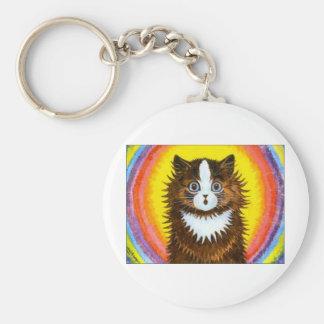 Rainbow Cat Key Chains