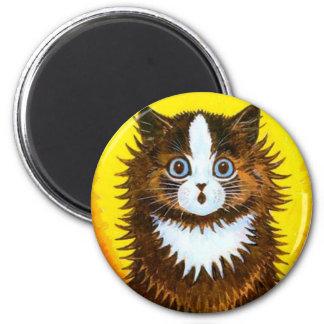 Rainbow Cat Magnet