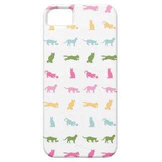 Rainbow Cat Pattern iPhone SE/5/5s Case