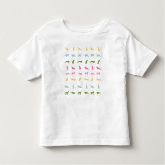 Rainbow Cat Pattern Tee Shirt