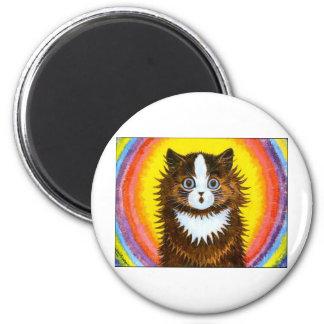Rainbow Cat Refrigerator Magnets