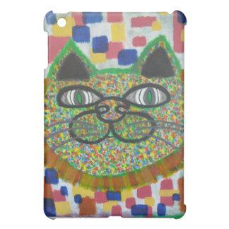 Rainbow Cat With Lion's Mane Art On An iPad Case
