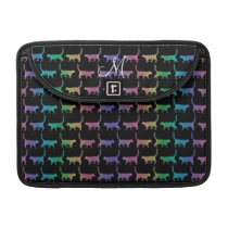 Rainbow Cats Animal Pattern Macbook Sleeve