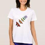 Rainbow Chakra butterflies Tee Shirt