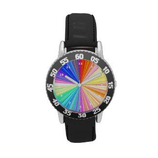 Rainbow Chakra Sparkle Watches