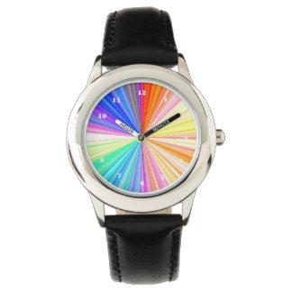Rainbow Chakra Sparkle Wristwatch