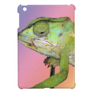 Rainbow chameleon case for the iPad mini