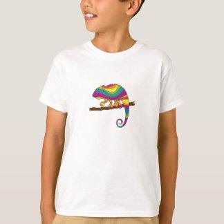 Rainbow Chameleon Kids' Tee