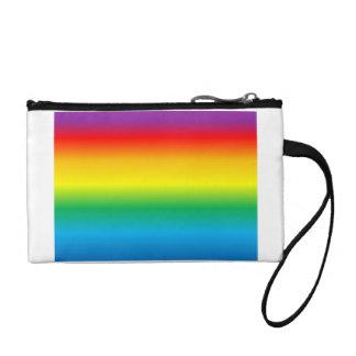 rainbow change purse