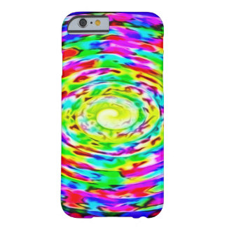 Rainbow Chaos Theory Airbrush Art Custom iPhone Barely There iPhone 6 Case