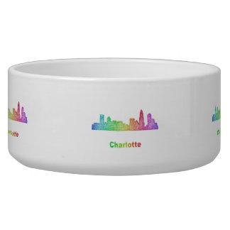 Rainbow Charlotte skyline Bowl