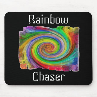 Rainbow Chaser Mouse Pad