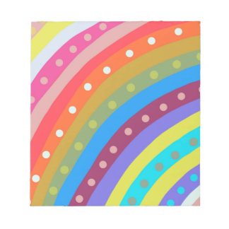 Rainbow Chaser Note Pad