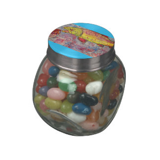 rainbow chasing fly jelly belly candy jars