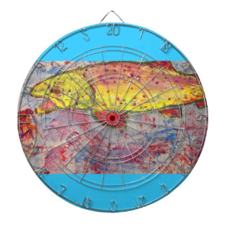 rainbow chasing fly dartboards