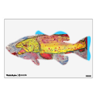 rainbow chasing fly wall decal