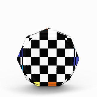 Rainbow Checkerboard CricketDiane Award