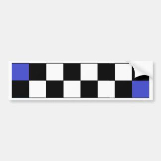 Rainbow Checkerboard CricketDiane Bumper Sticker