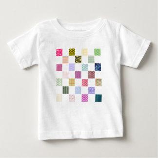 Rainbow Checkerboard pattern Baby T-Shirt