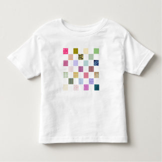 Rainbow Checkerboard pattern Toddler T-shirt