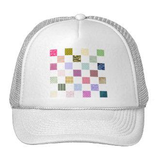 Rainbow Checkerboard pattern Trucker Hat