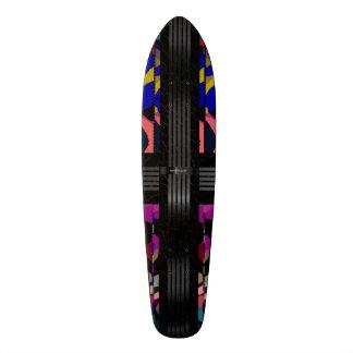 Rainbow Cheetah Fancy Pattern Skateboard