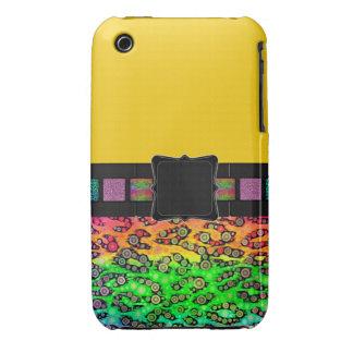Rainbow Cheetah Monogram iPhone 3 Covers