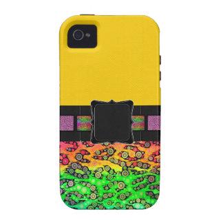Rainbow Cheetah Monogram Case For The iPhone 4